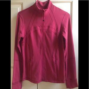 🍒LULULEMON sz 12 DEFINE Jacket NANTUCKET RED / VINTAGE ROSE ~ HTF Size!!